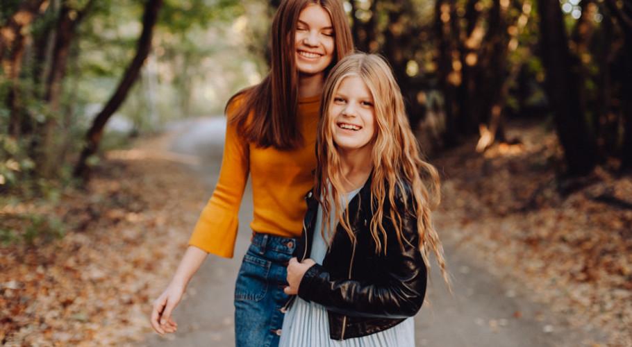 Julka i Hania- siostrzana sesja zdjęciowa