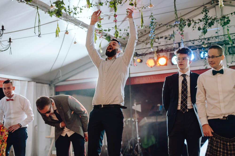 reportaż ślubny wesele