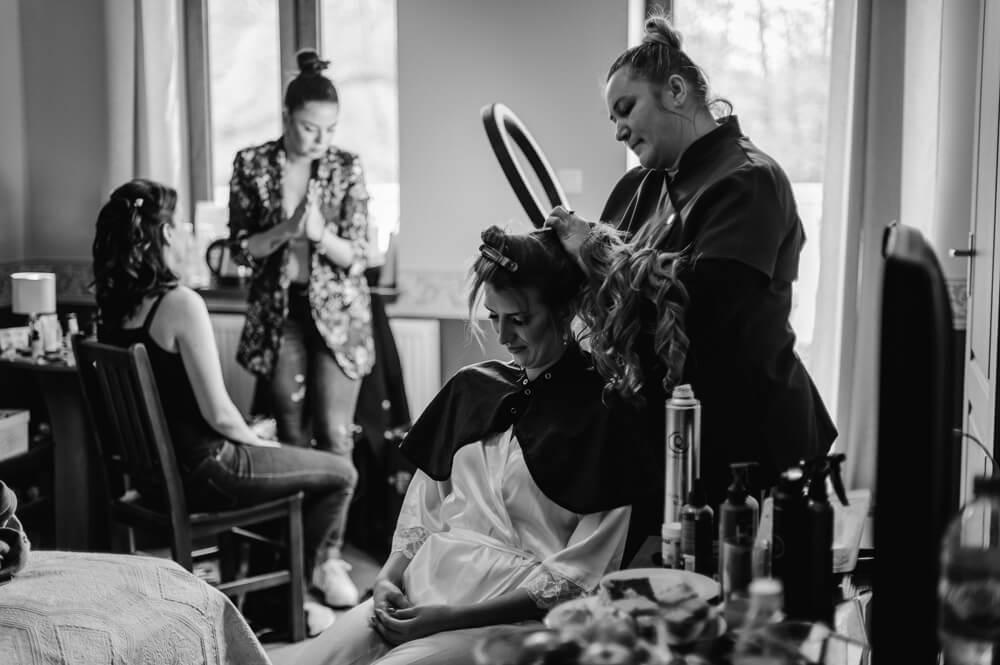 reportaż ślubny z przygotowań Panny Młodej
