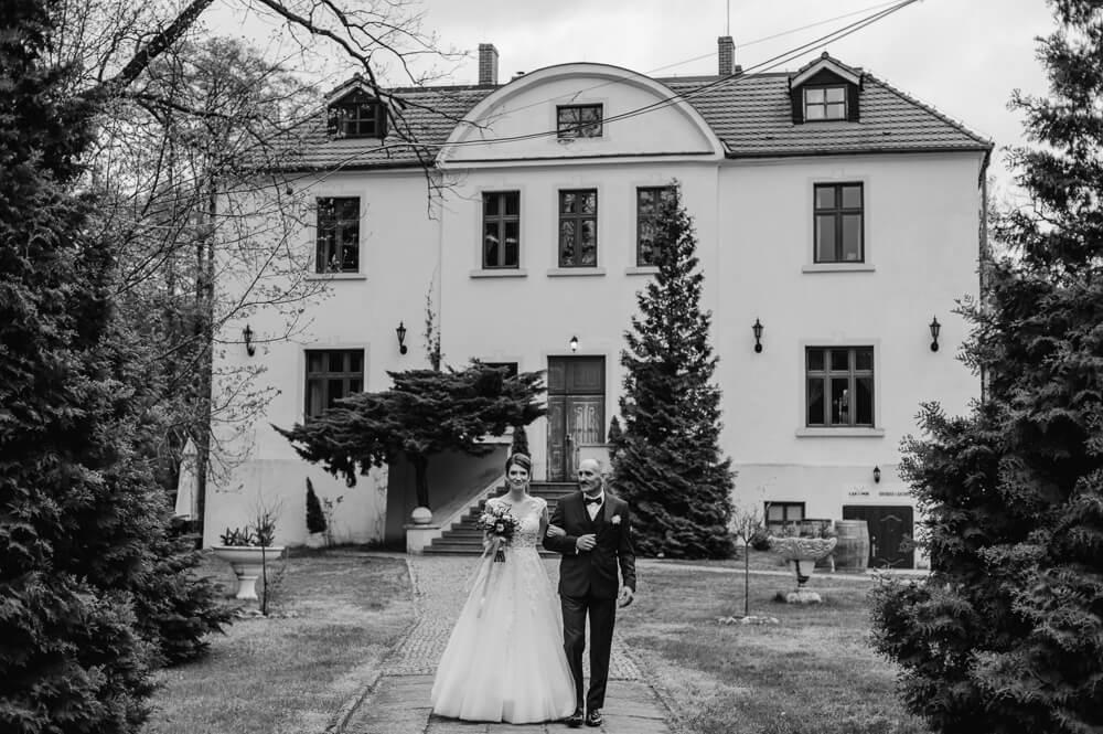 ślub w pałacu łąkomin