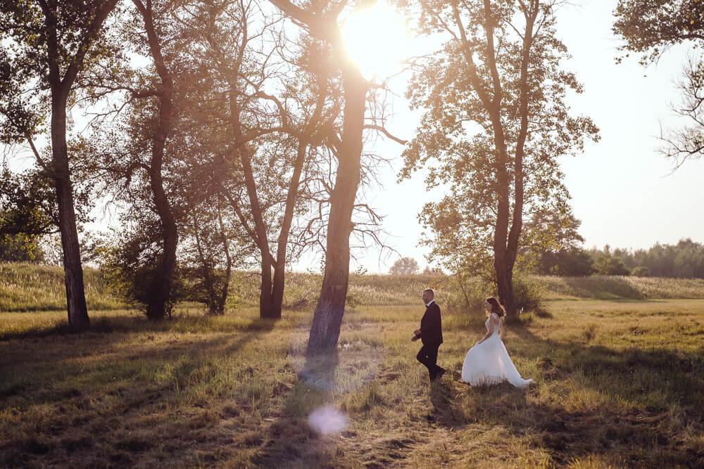 pamiątkowa sesja ślubna