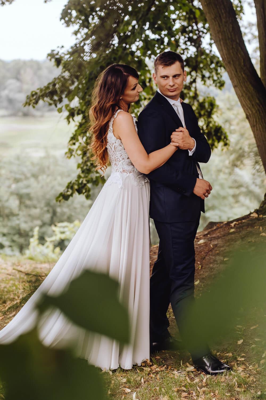 zdjęcia ślubne w winnicy lubuskie