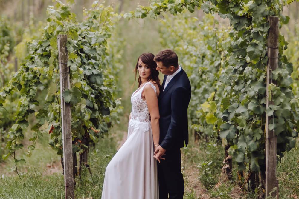 winnica sesja ślubna