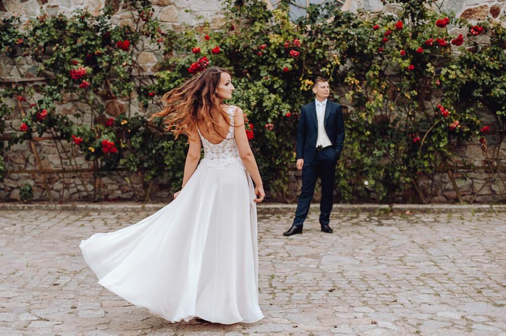 plenerowa sesja ślubna okolice Zielonej Góry