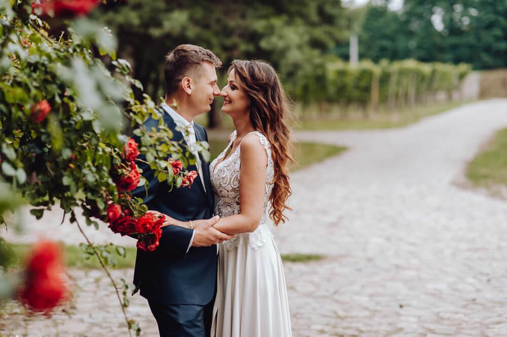 reportaż ślubny sesja