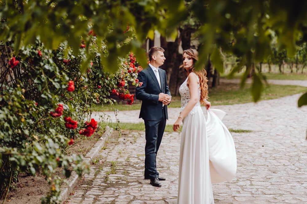 sesja ślubna po weselu