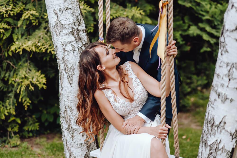 plenerowa sesja ślubna lubuskie