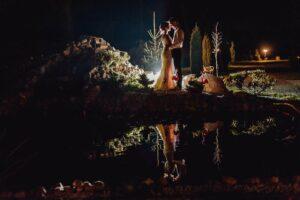 fotografia ślubna zdjęcia nocne
