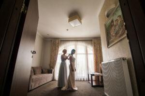 fotografia ślubna przygotowania panny młodej