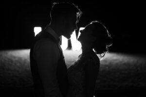 fotografia ślubna zdjęcia czarno-białe