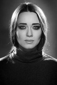 zdjęcie portretowe twarz kobiety