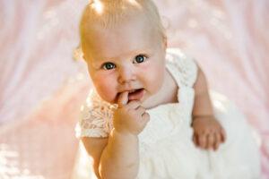sesja zdjęciowa dla niemowląt Polkowice