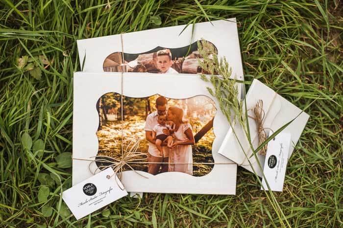 Ślubny album fotograf