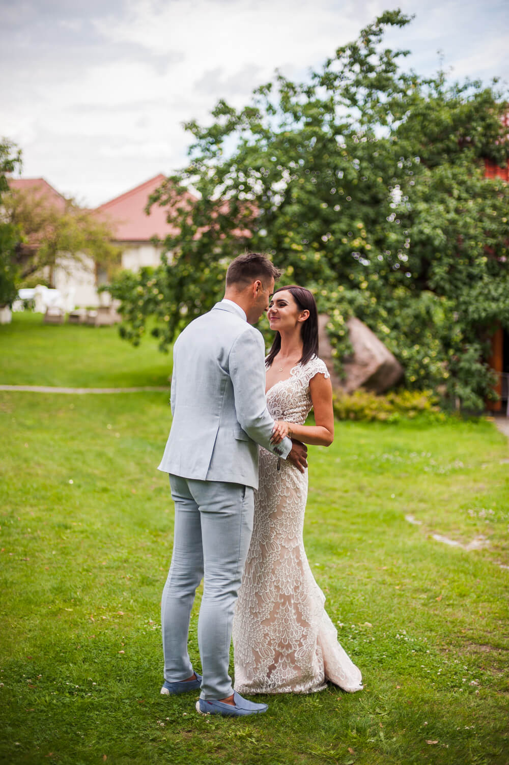 sesja ślubna winny dworek