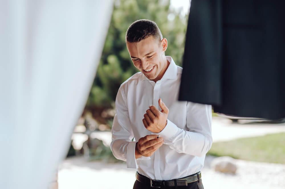 fotografia ślubna z przygotowań