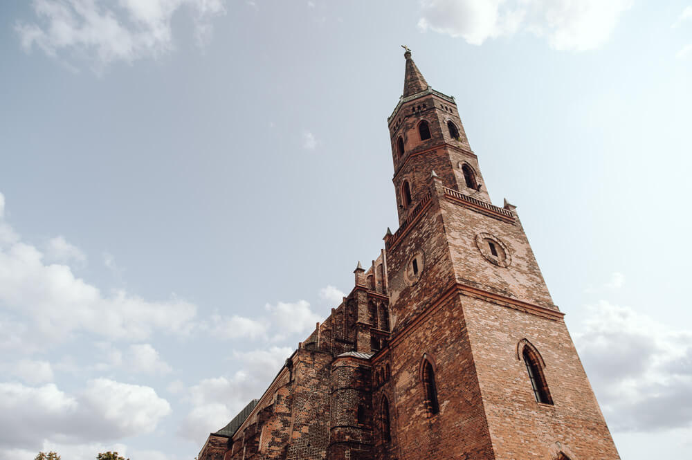 ślub w katedrze Głogów