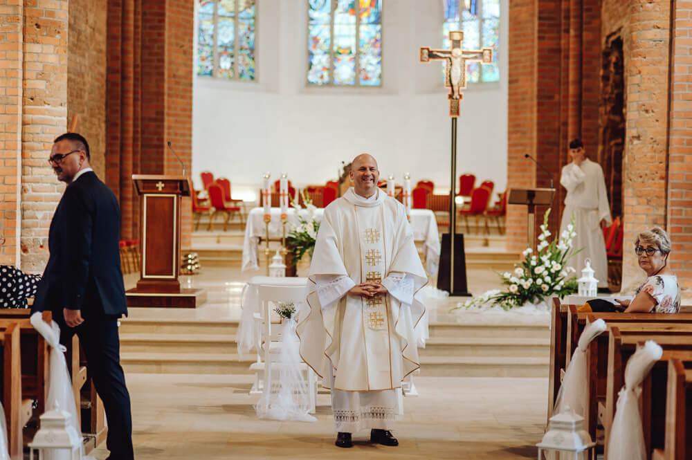 ślub w głogowskiej katedrze