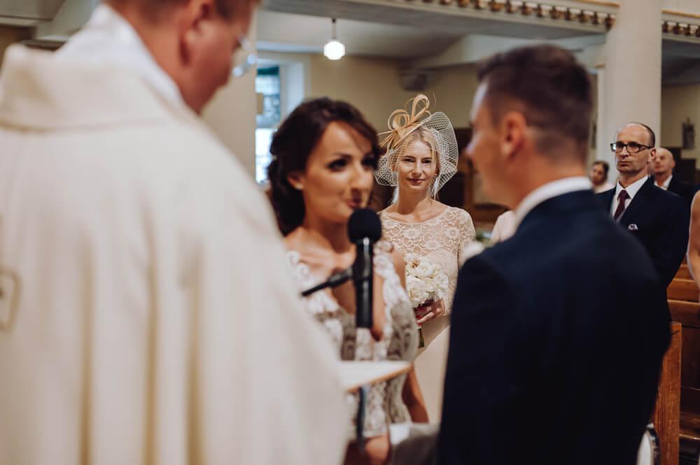 reportaż ze ślubu przysięga małżeńska
